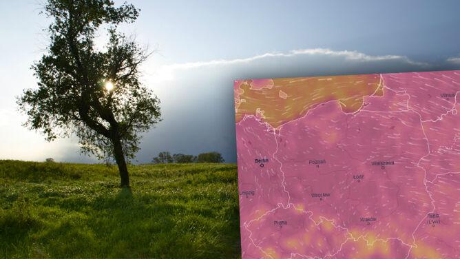 Gorące i burzowe oblicze lata. <br />Upał dotrze do większości regionów
