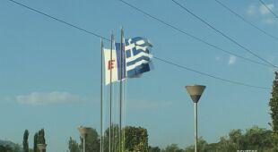 Silny wiatr w Grecji
