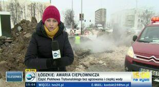 Awaria w Piotrkowie Trybunalskim (TVN24)