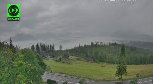 Tak tworzyła się burza w Tatrach (Kontakt24/Rafał Raczyński)