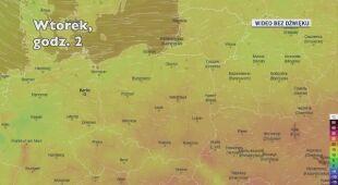 Temperatura w ciągu najbliższych dni (Ventusky.com)