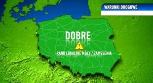 Prognoza pogody TVN Meteo dla kierowców, 30.10
